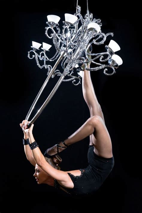 Dancer In Chandelier Aerial Chandelier The Of Aerial Movement And Chandeliers