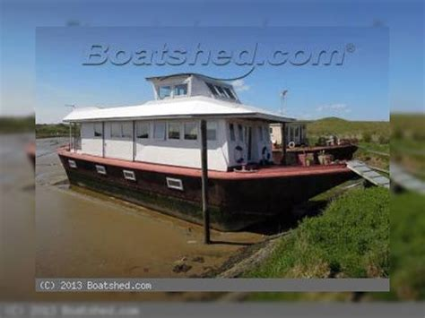 houseboat thames houseboat thames lighter barge for sale daily boats