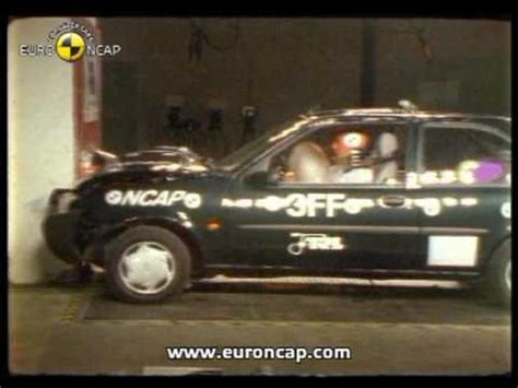 accident recorder 1997 ford escort navigation system euro ncap ford fiesta 1997 crash test youtube