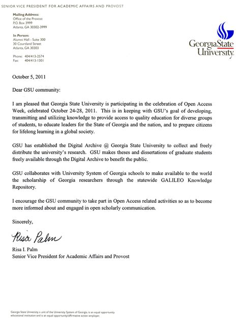 Georgian College Acceptance Letter open access week is here state library