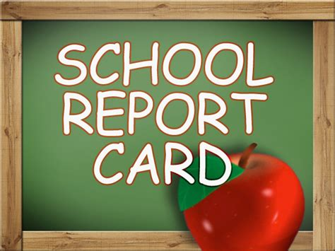 how to make a school report card school report card math app