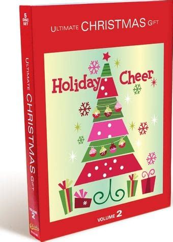 ultimate christmas gift volume 2 2 cd 3 dvd gift pack