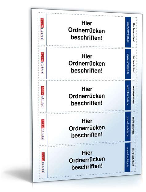 Etiketten Drucken Leitz Ordner by Ordner R 252 Cken Etiketten F 252 R Leitz Ordner Druckvorlage