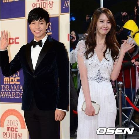 lee seung gi relationship girls generation s yoona and lee seung gi in a relationship