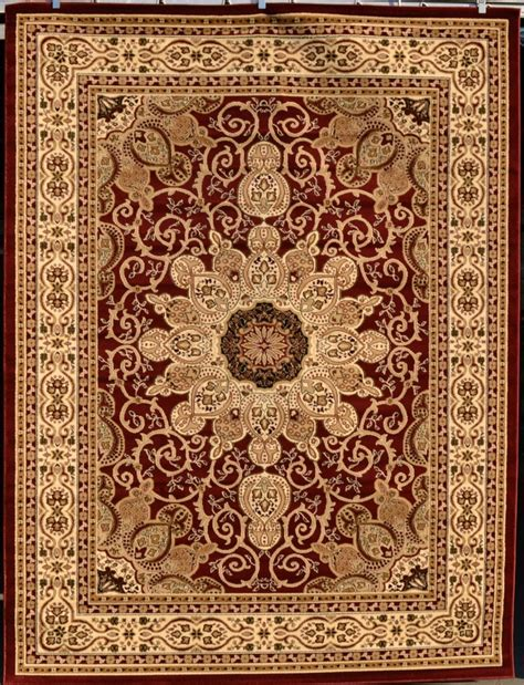 large burgundy rug burgundy green beige black isfahan area rug carpet large new 2001 ebay