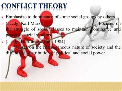 Conflicts In Society Essay by Social Conflict Theory In Society Articles Ezinemark