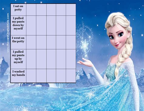 printable reward charts frozen free potty chart printables customize online print at home