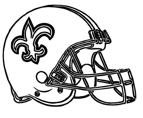 New Orleans Saints Coloring Page Coloring Home Coloring Pages Of Saints
