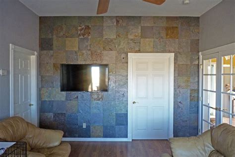tile accent wall creating a slate accent wall the easy way cathy graham