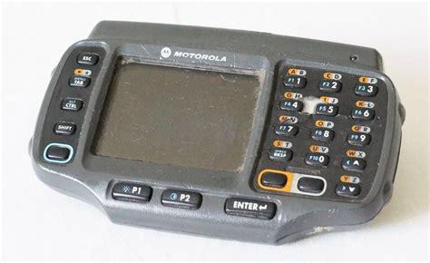 motorola mobile computer scanner motorola wt4090 wa0cc6ga8wr mobile computer barcode