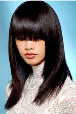 hairstyles for straight asian hair asian hairstyles asian straight hairstyles with bangs