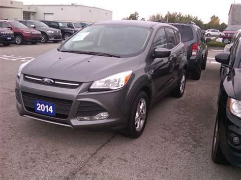 st marys ford used 2014 ford escape 1 60 se 4x4 st marys wheels ca