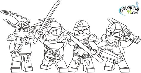 Ninjago Coloring Pages lego ninjago coloring pages free printable pictures