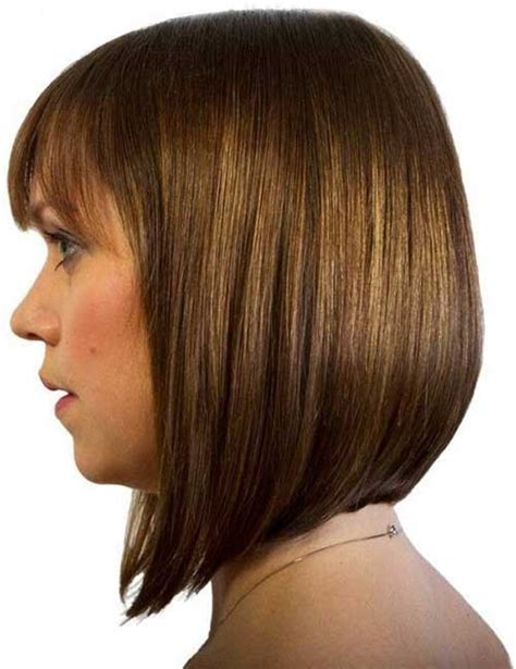 angled bob no bangs long aline haircut with bangs hairstylegalleries com
