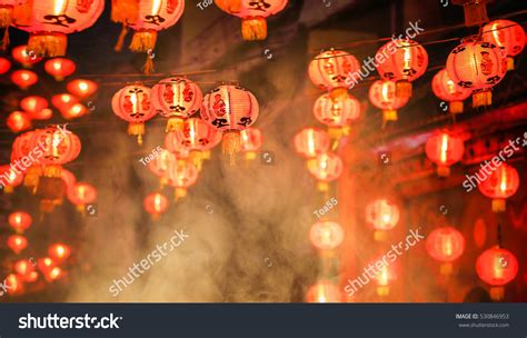 lanterns and firecrackers a new year story new year lanterns chinatown firecracker stock