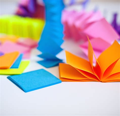 Origami Post Its - post it note garland a subtle revelry bloglovin
