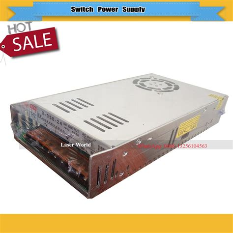 Switch Power Supply 350w With 115v 230v Input For Cnc