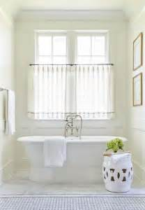 Bathroom Curtain Ideas For Windows by 25 Best Ideas About Bathroom Window Curtains On Pinterest