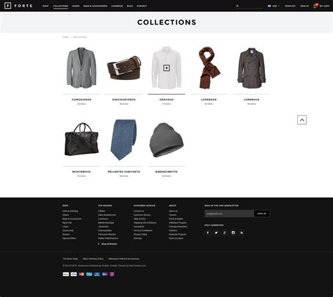 Forte Responsive Shopify Template Halothemes Com Shopify About Us Template
