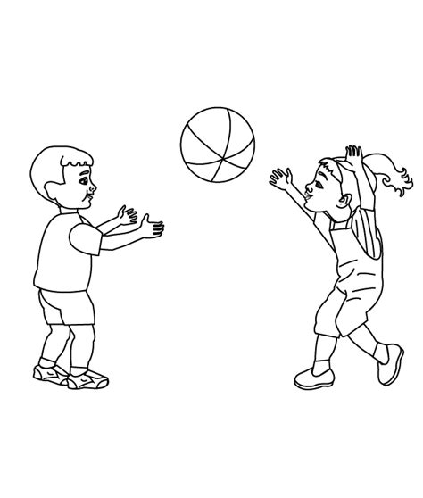 coloring pages play printable coloring pages