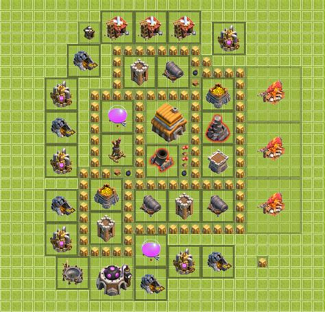 clash of clans base building tips for beginners coc land arsip