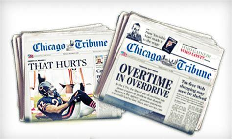 chicago tribune travel section sunday newspaper subscription chicago tribune company llc