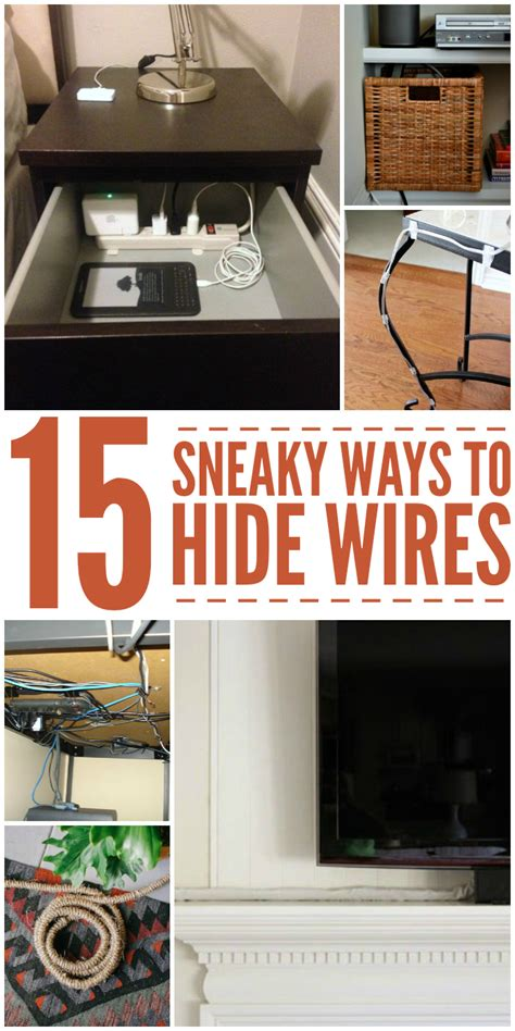 cable management 15 ways to hide wires