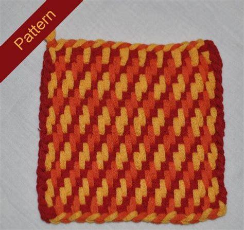 potholder loom pattern 44 best loom weaving images on pinterest
