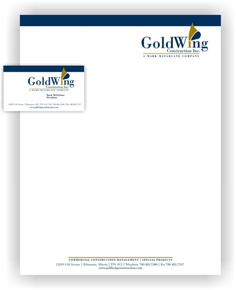 construction letterhead templates construction letterhead