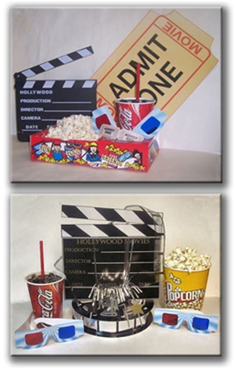 Movie Theater Themed Home Decor movie theme decor