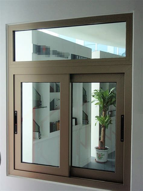 interior window design aluminum sliding glass reception