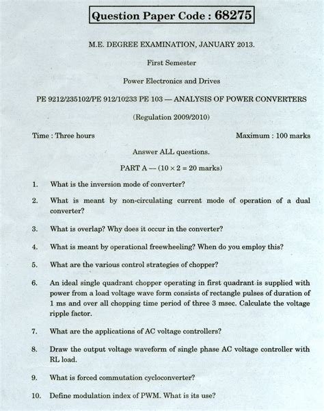Mba Networking Questions by Chennai Pe 9212 Analysis Of Power