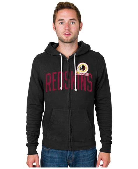 Sweater Hoodie Junk182 Front Logo lyst junk food s washington redskins sunday hoodie in black for