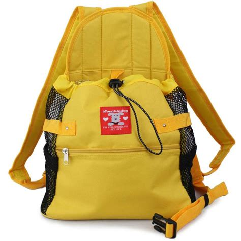 puppy pouch carrier puppy pet front style pouch carrier backpack yellow ebay