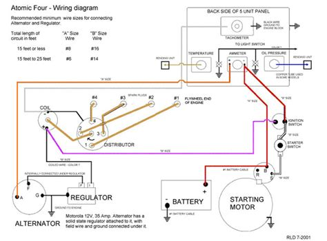 motorola alternator voltage regulator wiring diagrams