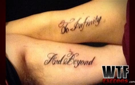 couples quote tattoos quotes or symbols quotesgram