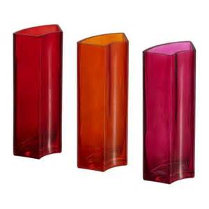 new ikea somrig vase assorted colors set of 3 ebay