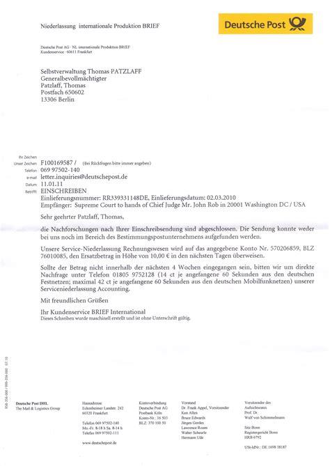 Beschwerdebrief Muster Telekom Selbstverwaltung Patzlaff