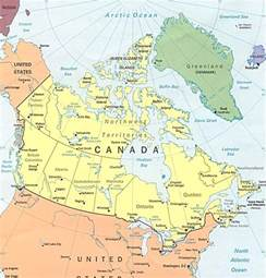 map for canada maps of canada
