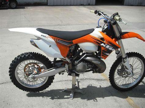 Ktm 250 Bike Buy 2012 Ktm 250 Xc Dirt Bike On 2040 Motos