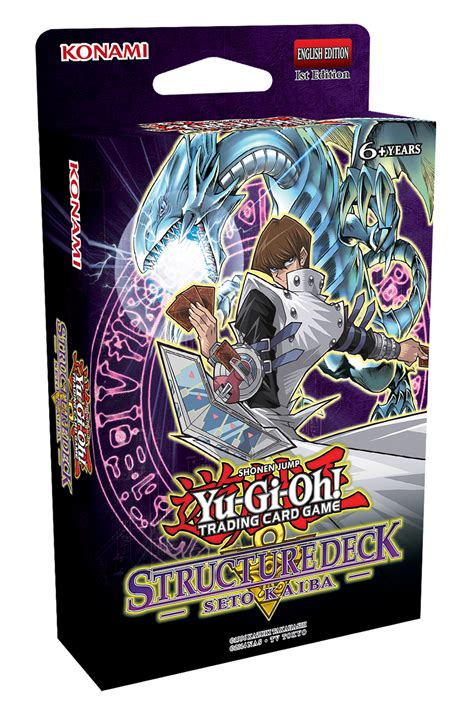 yugioh structure deck yu gi oh seto kaiba structure deck at mighty ape australia