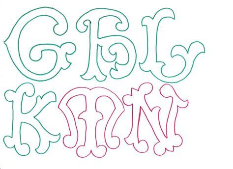 letras gruesas para carteles maestroscomot 250 letras curvas