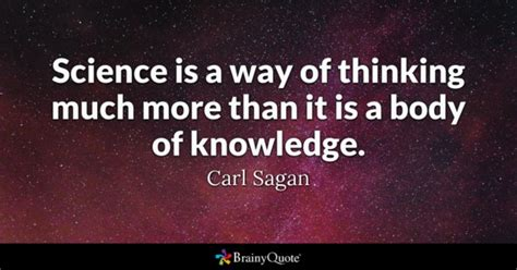 school smart it s more than just reading and writing books science is a way of thinking much more than it is a
