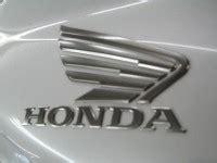 Honda Motorrad Ersatzteile Versand by Original Honda Motorrad Aufkleber Motorrad Bild Idee
