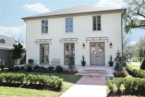 white brick gray trim door home exteriors grey trim white bricks and gray trim
