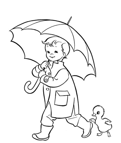 preschool rain coloring page rain coloring pages for preschoolers free download