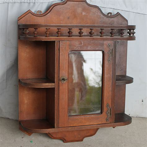Hanging China Cabinet by Bargain S Antiques 187 Archive Walnut