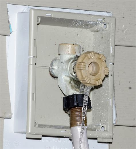 Water Leaking From Faucet by Plumbing How Do I Fix A Leaky Outdoor Faucet Home Improvement Stack Exchange