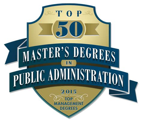 Mba Mpp Program Rankings by Top 50 Master S In Administration Mpa Degree