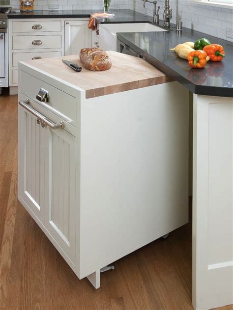 mobile island for kitchen 17 helpful kitchen storage hacks pretty designs
